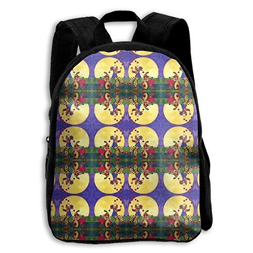 Duet Pattern - GIIHIH Child Backpack Cute For School   27