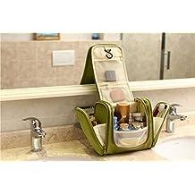 Magictodoor Deluxe Travel Kit Organizer Hook Bathroom Storage Hanging Cosmetic and Grooming Bag Toiletry Bag Travel Organizer Yf8800caLv
