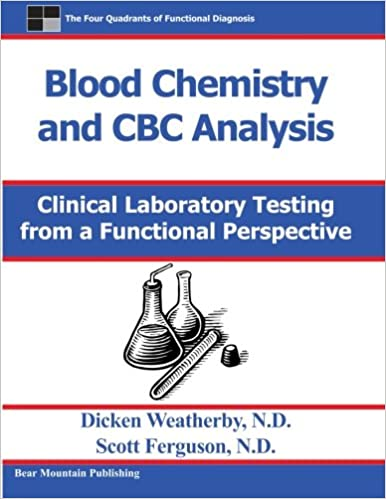 blood chemistry and cbc analysis clinical laboratory testing from a