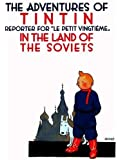 The Adventures of Tintin in the Land of the Soviets in Black & White