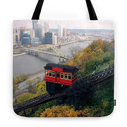 Society6 An Autumn Day On The Duquesne Incline In Pittsburgh, Pennsylvania Tote Bag 18