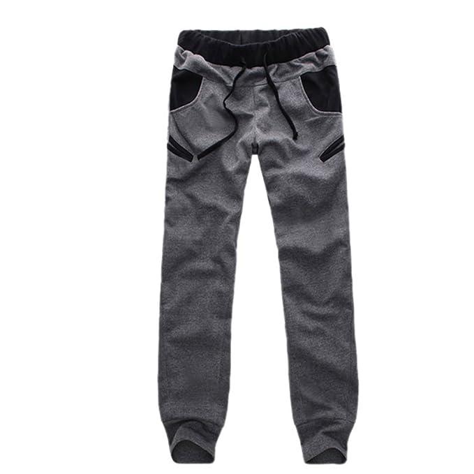 Amazon.com: wexinbuy pantalones de Casual para hombre ...
