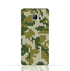 HTC U Ultra TPU Silicone Case With Knitted Camouflage Pattern Design