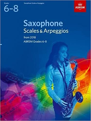 Saxophone Scales & Arpeggios, ABRSM Grades 6-8: from 2018