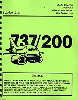 boeing 737 gen fam module 3 737 200 maintenance training manual rh amazon com B727- 200 B737- 100