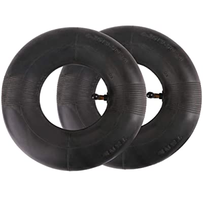 "2 PCS 4.10/3.50-4"" Inner Tube Tire for Hand Truck, Dolly, Hand Cart, Utility Wagon, Utility Carts, Garden Cart, Snowblower, Lawn Mower, Wheelbarrow, Generator and More, 4.10-4 Replacement Tube : Garden & Outdoor"
