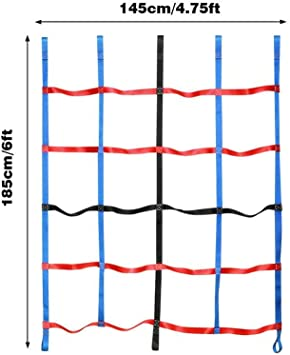 Redes de carga colgantes de escalada para niños, red de marco ...