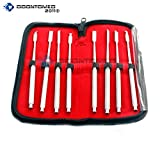OdontoMed2011 BONE CHISELS SET OF 8 PCS DENTAL INSTRUMENTS