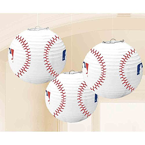 Amscan 244958/ACL Mlb Cascade C/P Party Supplies, (Mlb Paper)