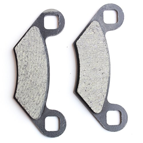 Brake Pad Set 1988-2017 Polaris Ace ATP Magnum Ranger RZR Scrambler Sportsman Trail Boss Blazer Xpedition Xplorer by 8TEN