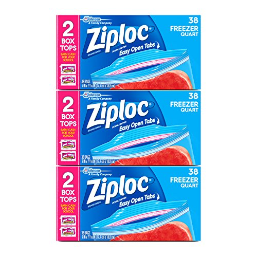 Ziploc Quart Freezer Bags