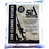 S2Delta Gun Cleaning Patches, Premium Quality, Highly Absorbent, Bulk Cleaning Patches,5.56,7.62, 9mm.45.308