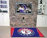 Fanmats MLB Texas Rangers Rug 4x6 46''x72'' Fanmats MLB Texas Rangers Rug 4x6 46''x72''