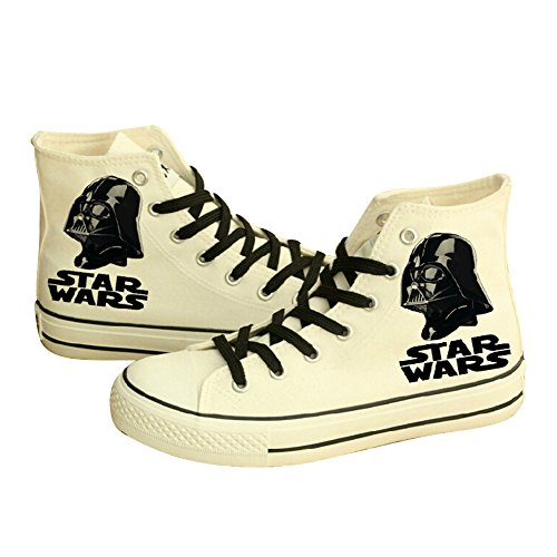 [Star Wars Shoes Darth Vader Anakin Skywalker Canvas Shoes Cosplay Shoes Sneakers] (Young Anakin Costume)