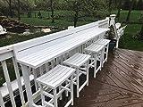 MIYU Furniture 3-piece Balcony Bar – Lily