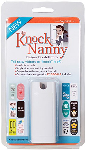 Off Doorbells (Knock Nanny Door Bell Cover, White)