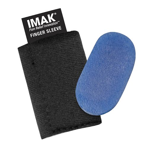 Polar Ice Compression Finger Sleeve, Ice Therapy Cold Pack, (Cold Finger)