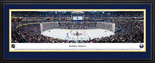 Buffalo Sabres - Center Ice - Blakeway Panoramas NHL Posters with Deluxe Frame ()