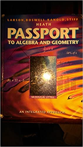 Amazon passport to algebra and geometry 9780669440676 ron passport to algebra and geometry fandeluxe Choice Image