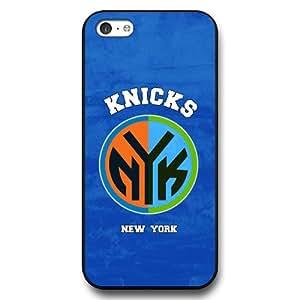 NBA LOGO - New York Knicks iPhone 5c Case Cover - New York Knicks iPhone 5c Hard Plastic Case Cover (Black) - Black