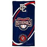 "Washington Nationals 30"" x 60"" Navy Blue Swirl Beach Towel"
