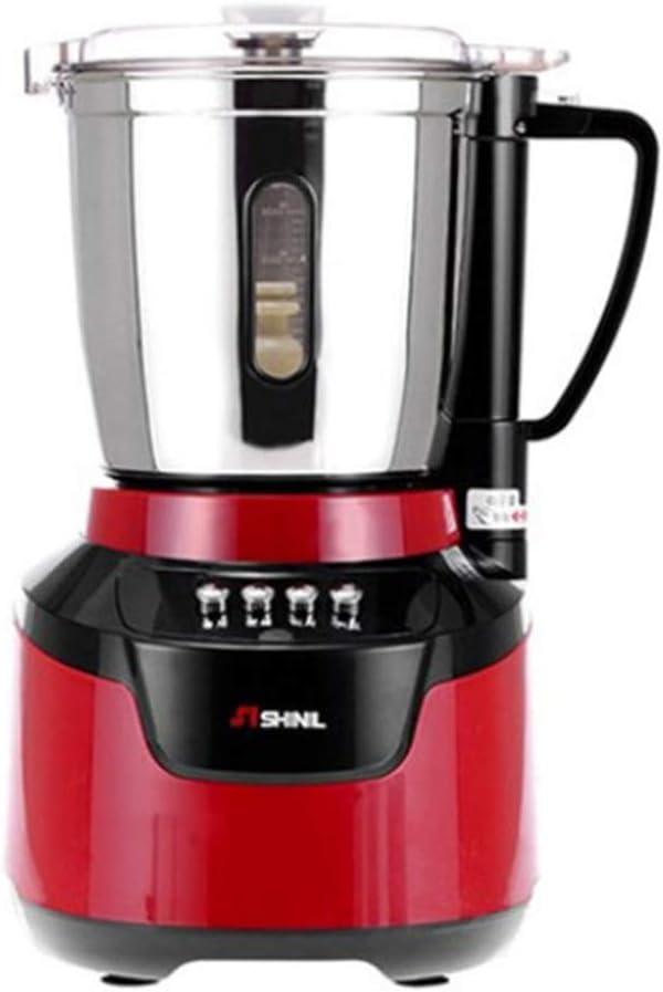 SHINIL 4L Large Capacity Blender Titanium Blade Multifunctional Grinder Cooking Machine Gristmill 220V 650w