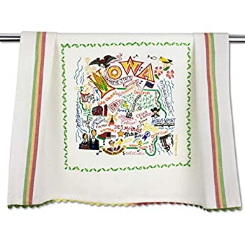 86277ebe58 Catstudio | Iowa Dish Cloth, Tea Towel or Decorative Hand Towel | Geography  Collection