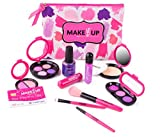 Pretend Makeup Set Children - The Exclusive Glamour Girl collection - Great Little Girls & Kids ( NOT REAL MAKE-UP)