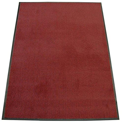 Mat Olefin - Rubber-Cal Soft Top Olefin Carpet Mat - 3ft x 10ft - Red Commercial Door Mats