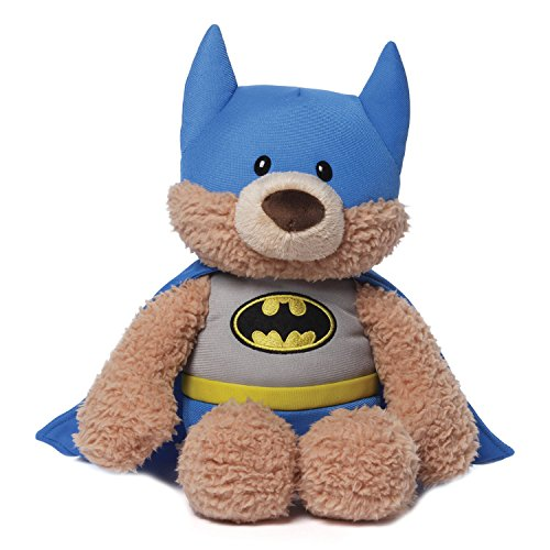 GUND DC Comics Batman Malone Teddy Bear Stuffed Animal Plush, 12