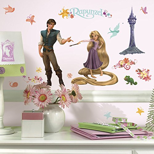 RoomMates Disney Rapunzel Peel and Stick Wall Decal]()
