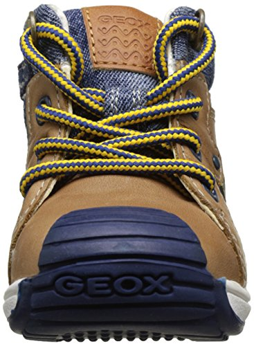 Geox B Toledo Boy B, Botines de Senderismo para Bebés Beige (Caramel c5102)