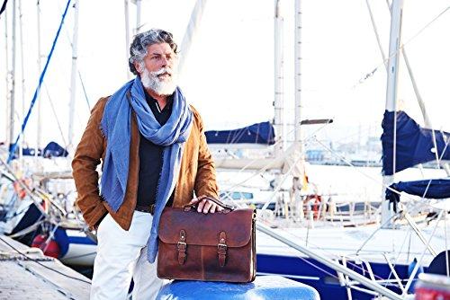 Kalating - London  Elder,  Herren Damen Unisex-Erwachsene Aktentasche braun braun Shoulder bag