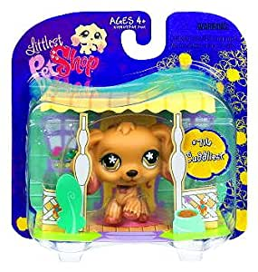 Littlest Pet Shop Exclusive Cuddliest Single Pack Cocker Spaniel with Rope