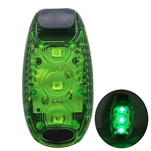 Rowrun 3 Modes Red Flashing LED Safety Lights + FREE Bonuses On Strobe Running Lights for Runner,Dogs,Bike Tail,Walking,Jogging Accessories for Your Reflective Gear…
