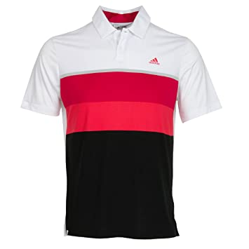 adidas Herren Climacool Engineered Striped Kurzärmliges Polo Hemd