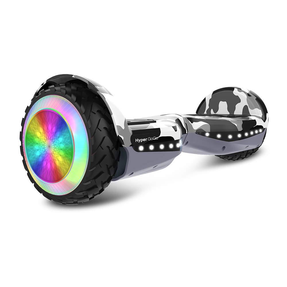 HYPER GOGO Hoverboard Gray Camo