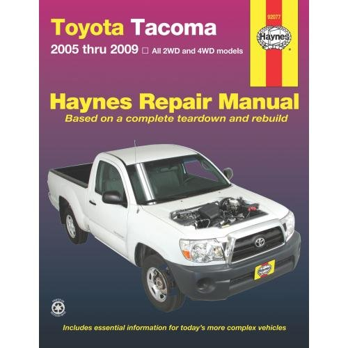 toyota tacoma repair manual - 8