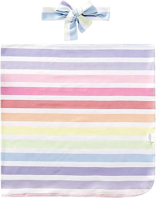PINK /& WHITE CHEVRON STRIPE  LG  FLANNEL SWADDLING BABY BLANKET FOR GIRL