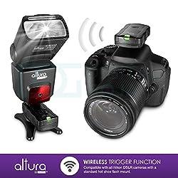 Altura Photo Professional Flash Kit For Nikon Dslr - Includes: I-ttl Flash (Ap-n1001), Wireless Flash Trigger Set & Accessories 14