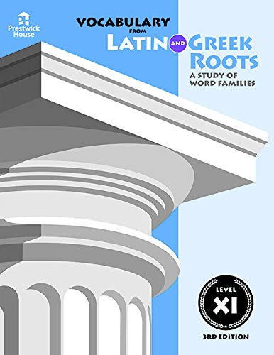 Vocabulary from Latin and Greek Roots: Book Five