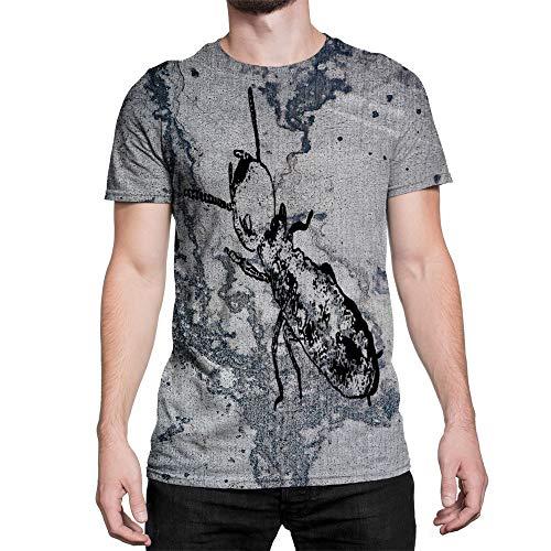Idakoos Animal Termite 3D - Men T-Shirt Polyester L