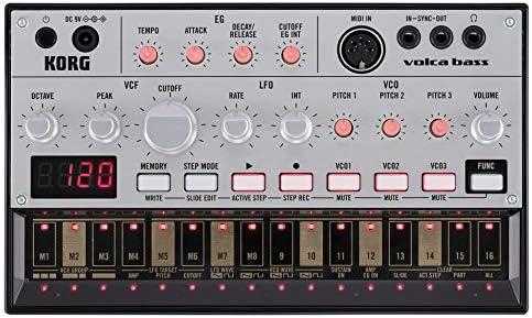 Korg Volca Bass sequencer synth analogico compatto per basso