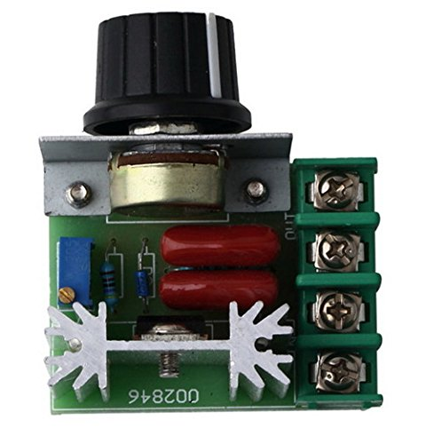220v 2000w SCR Voltage Regulator Motor Dimmers Thermostat Speed Controller by Unknown (Image #2)