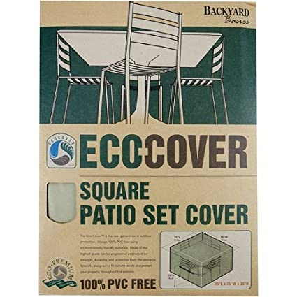 Square Patio Cvr 75x75x30