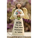 Heart of America Mom Angel with Flowers