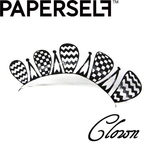 신감각 페이퍼 아이래시☆PAPERSELF[페이퍼 셀프] Clown 【크라운】 1페어 (블랙)