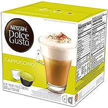 NESCAFÉ Dolce Gusto Coffee Capsules  Cappuccino  48 Single Serve Pods, (Makes 24 Specialty Cups)