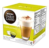 NESCAFÉ Dolce Gusto Coffee Capsules – Cappuccino – 48 Single Serve Pods, 7.05 oz (Makes 24 Specialty Cups)