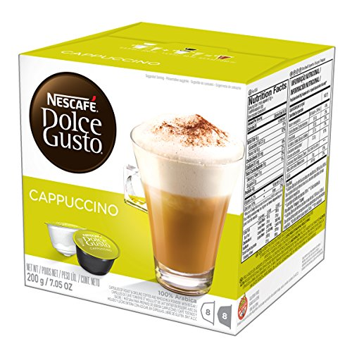 (NESCAFÉ Dolce Gusto Coffee Capsules Cappuccino, 16 Count ( Pack Of 3 ))